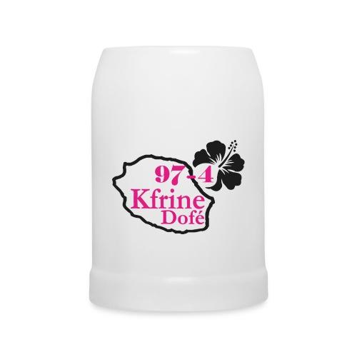 Chope Sexy Kfrine, kfrine dofé,  Sexy 974, Réunion, Pure Sex - Chope en céramique