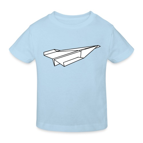 Shirt mit Papierflieger - Kinder Bio-T-Shirt