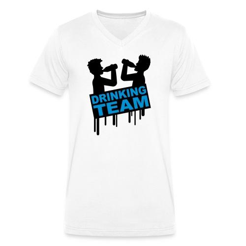 Drinking Team - T-shirt bio col V Stanley & Stella Homme