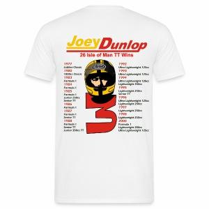 Joey 26 TT wins (on rear) - Men's T-Shirt