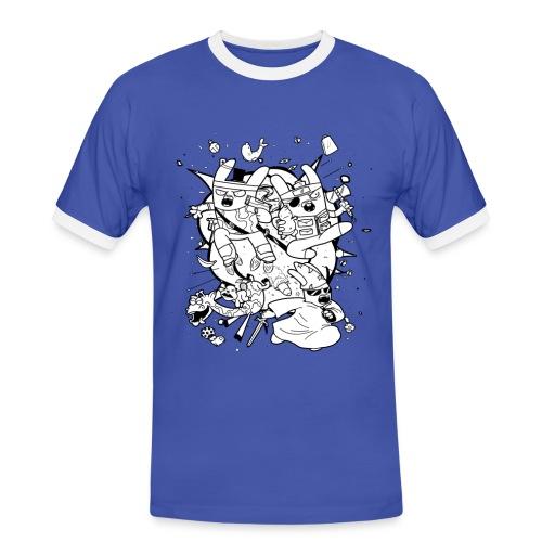 Action Bunnies - Men's Ringer Shirt