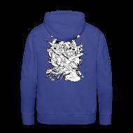 Hoodies & Sweatshirts ~ Men's Premium Hoodie ~ Action Bunnies