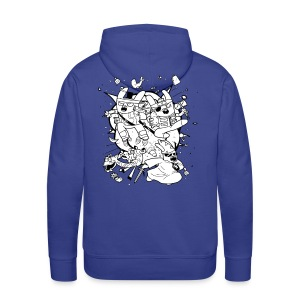 Action Bunnies - Men's Premium Hoodie