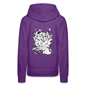 Action Bunnies - Women's Premium Hoodie