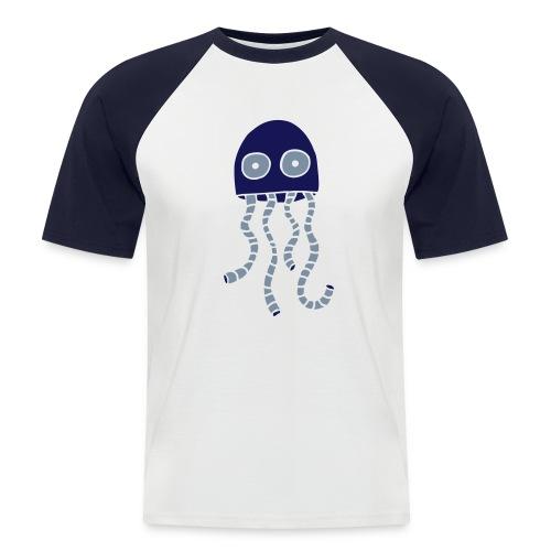 alien1 - Männer Baseball-T-Shirt