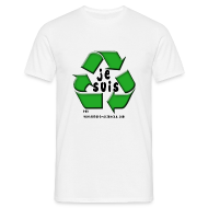 Tee shirts ~ Tee shirt Homme ~ Je suis recyclable