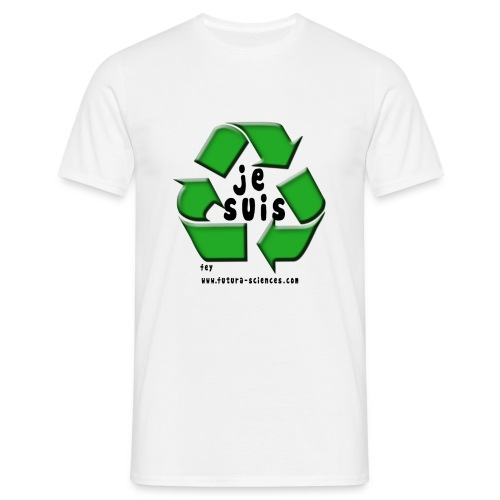 Je suis recyclable - T-shirt Homme