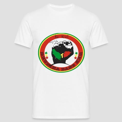 Tee shirt classique Homme 974 Ker Kreol Nation Rasta 2013 - T-shirt Homme