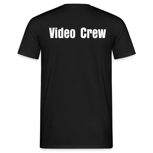 Video Crew (On Back) - Mens - Men's T-Shirt