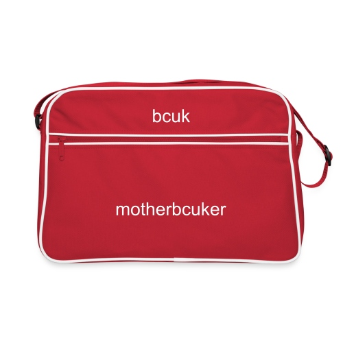 bcuk it retro motherbcuker - Retro Bag