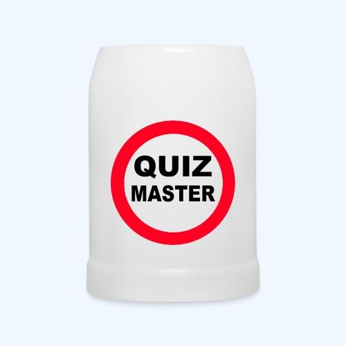 QuizMaster Beer Mug - Beer Mug