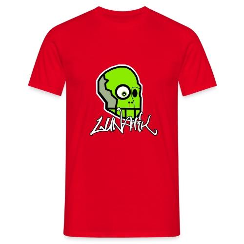 LUNATIK Kopf+Schriftzug T-Shirt - Männer T-Shirt