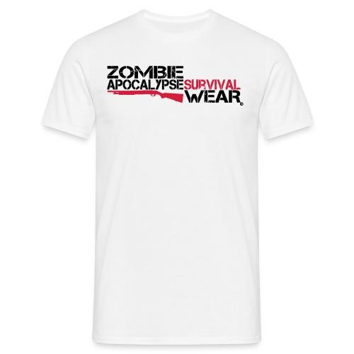 Z.A. Wear Survival - Shirt white II - Männer T-Shirt