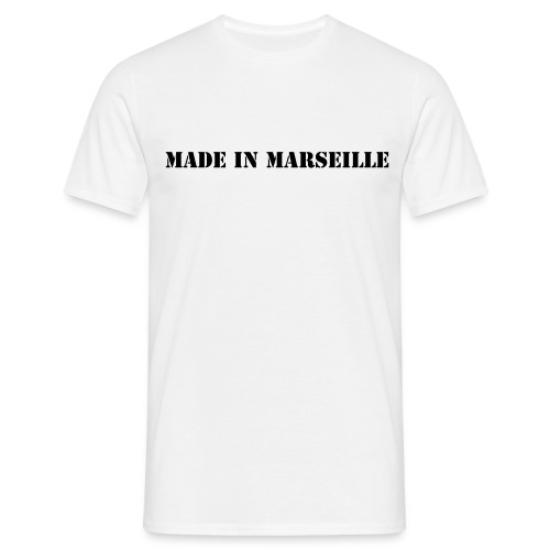 Made in Marseille_N/B - T-shirt Homme