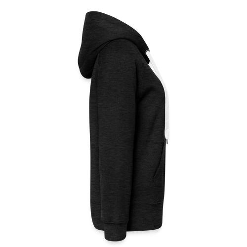 FELPA DONNA ZIP ROSSA - Felpa con zip premium da donna