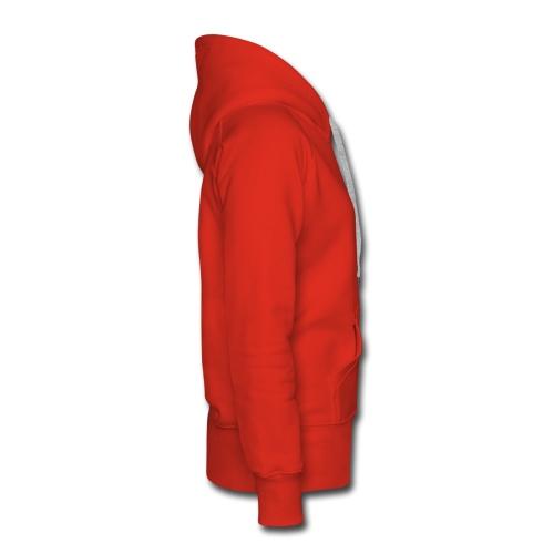 Felpa donna no Zip ROSSA - Felpa con cappuccio premium da donna