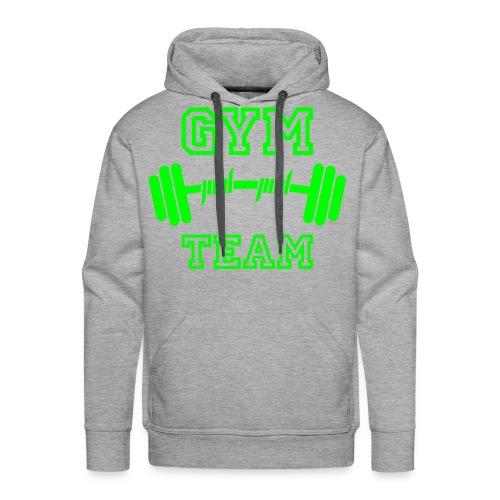 gym team hoody - Mannen Premium hoodie