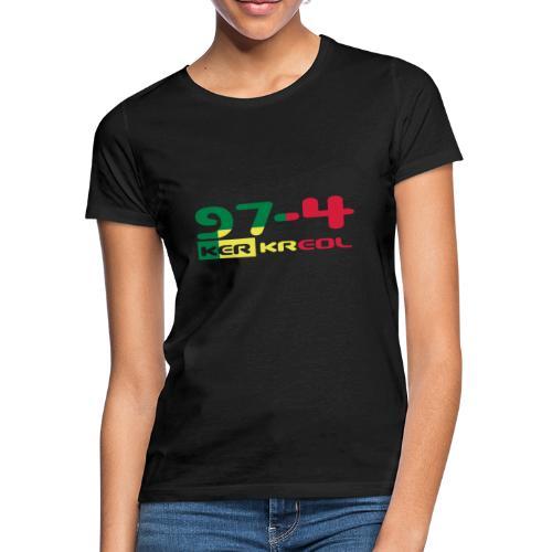 Tee shirt classique Homme 974 ker kreol rastafari - T-shirt Femme