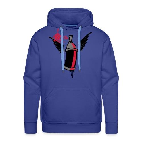 Sudadera con capucha hombre CREW - Sudadera con capucha premium para hombre