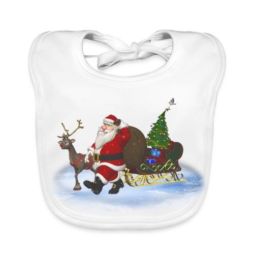 Santa is coming - Baby Bio-Lätzchen