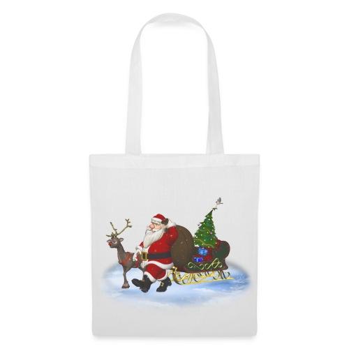 Santa is coming - Stoffbeutel