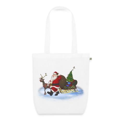 Santa is coming - Bio-Stoffbeutel