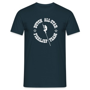 Dutch All-Star Fierljep Team (heren) - Mannen T-shirt