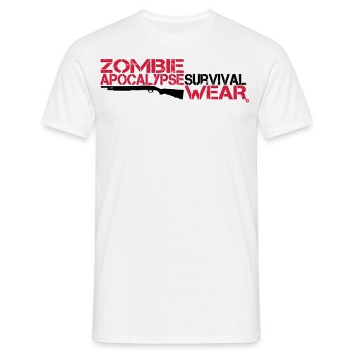 Z.A. Wear Survival - Shirt white - Männer T-Shirt