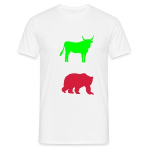 bulls and bears - T-shirt Homme