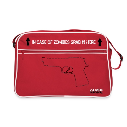 Survivors Retro-Bag - red - Retro Tasche