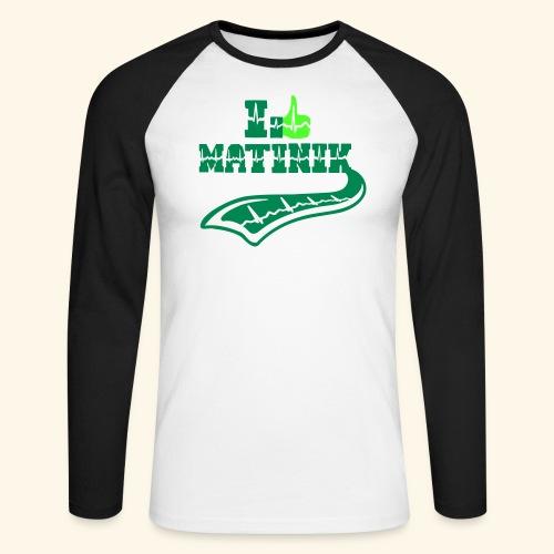 I LIKE MATINIK - T-shirt baseball manches longues Homme