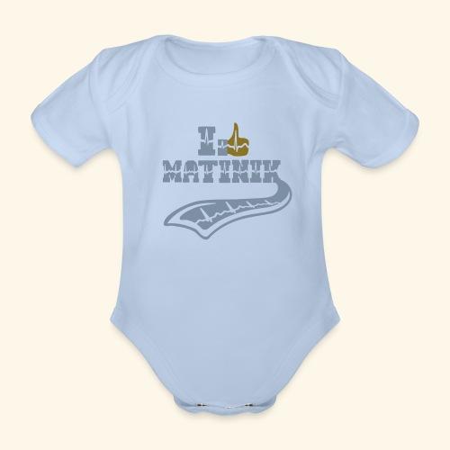 I LIKE MATINIK - Body bébé bio manches courtes