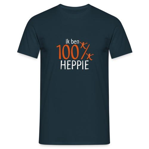 Heren Shirt 100% Heppie - Mannen T-shirt
