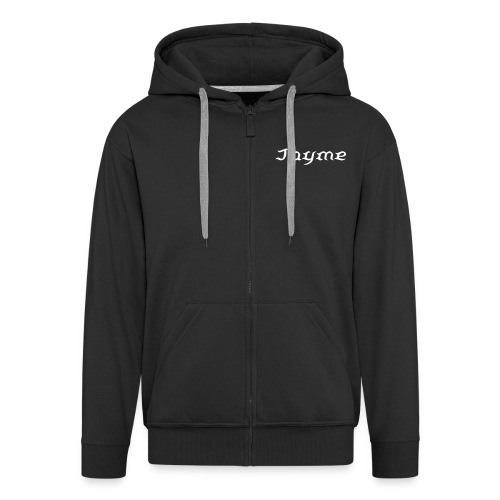 Personlised Hoodie - Men's Premium Hooded Jacket