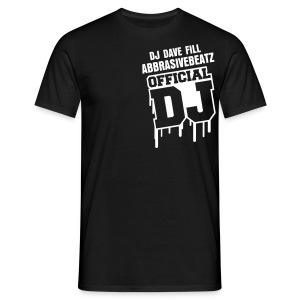 DJ DAVE FILL OFFICIAL CIAL T-SHIRT - Men's T-Shirt
