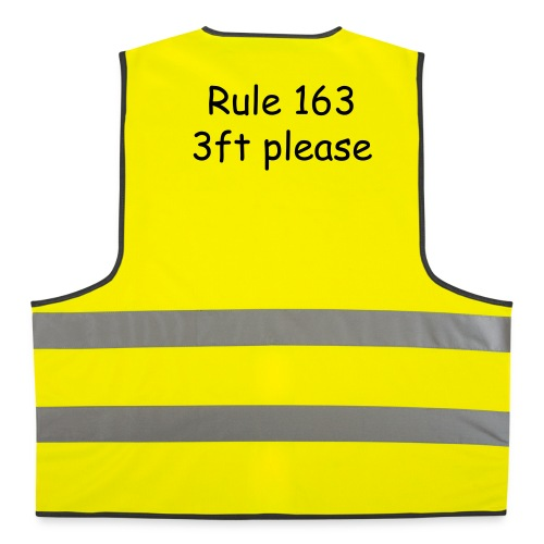 3ft Please  - Reflective Vest