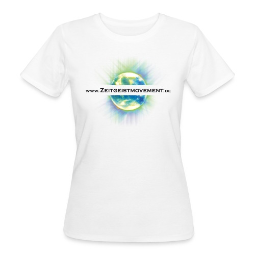 Zeitgeistmovement.de Girlie - Frauen Bio-T-Shirt