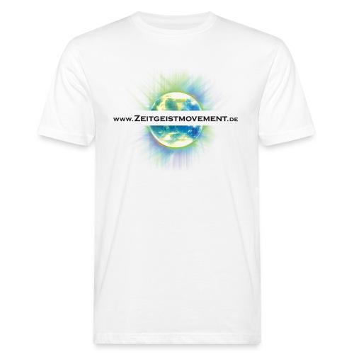 Zeitgeistmovement.de - Männer Bio-T-Shirt
