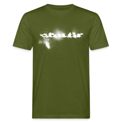 Chalk Men Organic - Men's Organic T-Shirt
