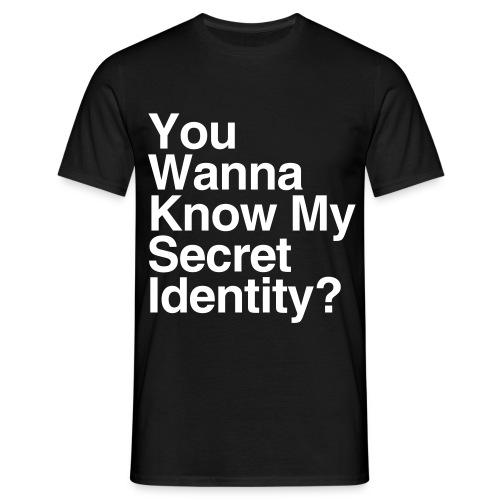 Secret Identity - Men's T-Shirt