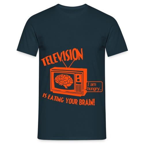 Television - T-shirt herr
