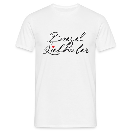 Brezel-Liebhaber - Männer T-Shirt