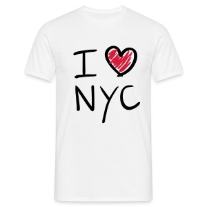 I Love New York City - Men's T-Shirt