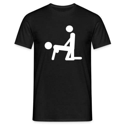 Von Hinten T-Shirt - Men's T-Shirt