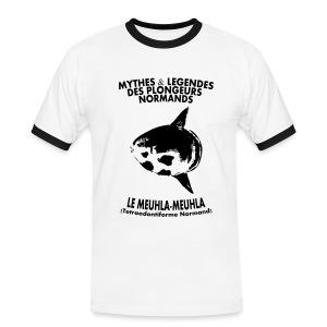 Meuhla-Meuhla-Hom-Imp Flex+logo dos - T-shirt contrasté Homme