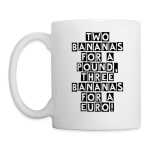 Two bananas for a pound - Mug