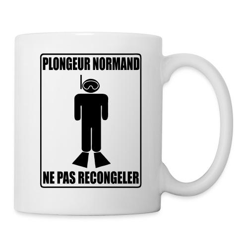 Mug Plongeur Normand - Mug blanc