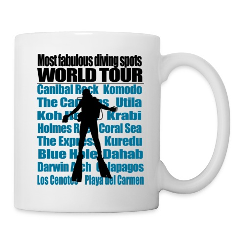 World Tour Mug - Mug blanc