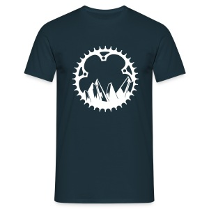 mountain bike  - Mannen T-shirt