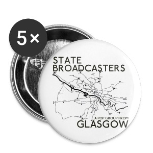 Pop Group From Glasgow - Buttons small 25 mm